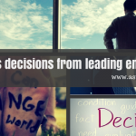 Best business decisions from leading entrepreneurs