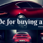 Our guide for buying a new car