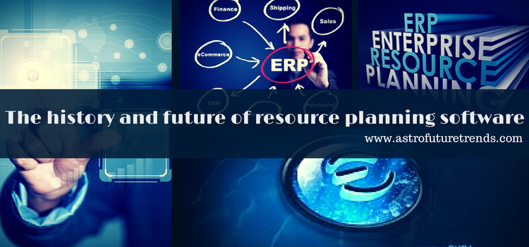 The history and future of resource planning software